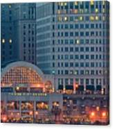 Clevelands Tower City Canvas Print