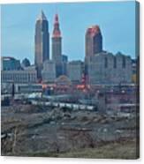 Clevelands Urban Side Canvas Print