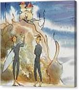 Cliff Castles Canvas Print