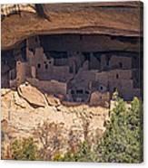 Cliff Dwelling Canvas Print