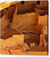 Cliff Dwellings Canvas Print