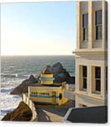 Cliff House Giant Camera Canvas Print