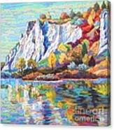 Cliff Landscape Canvas Print