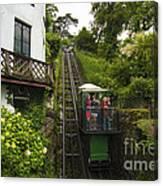 Cliff Railway  Canvas Print