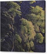 Cliffhangers Canvas Print