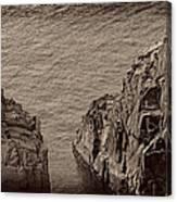 Cliffs At Bonavista Canvas Print