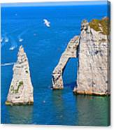 Cliffs Of Etretat France Canvas Print