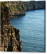 Cliffs Of Moher Clare Ireland Canvas Print