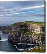 Cliffs Of Moher I Canvas Print