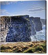 Cliffs Of Moher - Late Afternoon Canvas Print