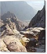 Cliffs Of Mount Sinai Canvas Print