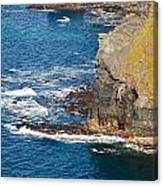 Cliffs Of Time Canvas Print