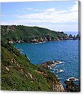 Cliffs On Isle Of Guernsey Canvas Print
