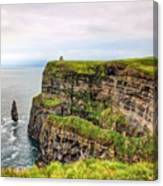 #cliffsofmoher #ireland #landscape Canvas Print