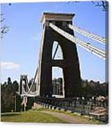 Clifton Suspension Bridge Bristol Canvas Print