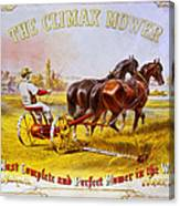 Climax Mower Canvas Print