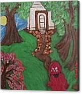 Climbin 2 Canvas Print