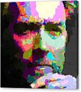 Clint Eastwood - Abstract Canvas Print