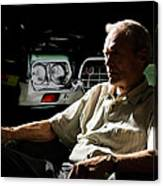 Clint Eastwood As Walt Kowalski In The Film Grand Torino - Clint Eastwood - 2008 Canvas Print