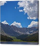 Clinton Gulch Summer Canvas Print