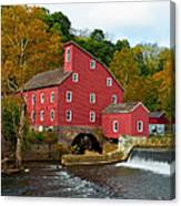 Clinton Mill II  Canvas Print