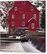 Clinton Mill Canvas Print