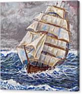 Clipper Ship Canvas Print