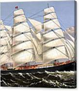 Clipper Ship Three Brothers Canvas Print