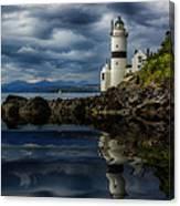 Cloch Lightouse Canvas Print