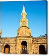 Clock Tower Gate Canvas Print