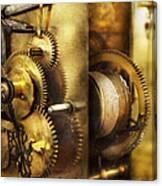 Clockmaker - We All Mesh Canvas Print