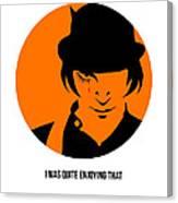 Clockwork Orange Poster 1 Canvas Print