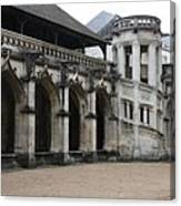 Cloister And Staircase Cathedral Tours Canvas Print