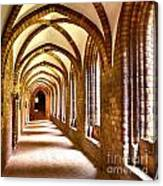 Cloister Arches Canvas Print