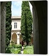 Cloistergarden Chartreuse Canvas Print