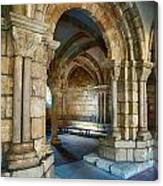 Cloisters Arch Canvas Print