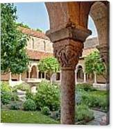 Cloisters Courtyard Canvas Print