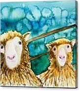 Cloning Around Canvas Print