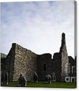 Clonmacnoise Cathedral Canvas Print