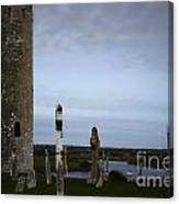Clonmacnoise On The River Shannon Canvas Print