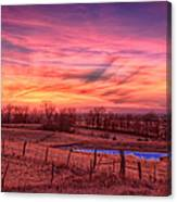 Close Of Day Canvas Print