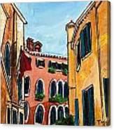 Close Quarters Canvas Print