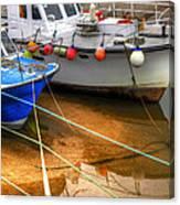 Close Up Boats Canvas Print