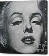 Close Up Marilyn Canvas Print