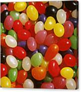 Close Up Of Jelly Beans Canvas Print