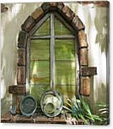 Closed Window Canvas Print