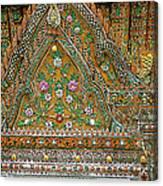 Closeup Of Temple Of The Dawn/wat Arun In Bangkok-thailand Canvas Print