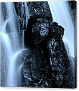 Closeup Waterfall Canvas Print