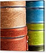 Cloth Ribbons Canvas Print