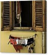 Clothes Dryer Canvas Print